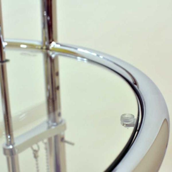 サイドテーブル E1027 アイリーン・グレイ カクテルテーブル 強化ガラス 高さ調整可能 リプロダクト シンプルモダン|atease|04