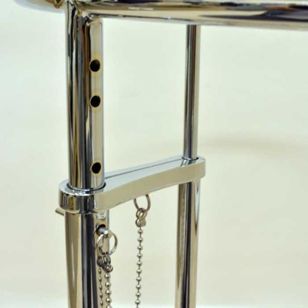 サイドテーブル E1027 アイリーン・グレイ カクテルテーブル 強化ガラス 高さ調整可能 リプロダクト シンプルモダン|atease|05