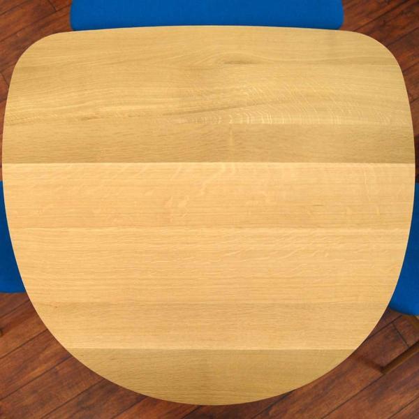 ダイニングテーブル 飛騨産業 コブリナ Cobrina TF332WP オーク材 天板133×120cmサイズ|atease|02