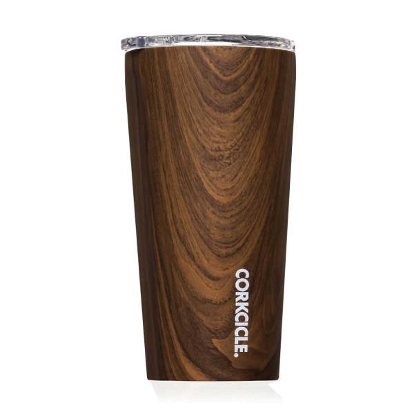 保冷 保温 カップ サーモマグ ステンレスタンブラー コークシクル タンブラー 16oz 470ml 木目調 ウォールナットデザイン|atease
