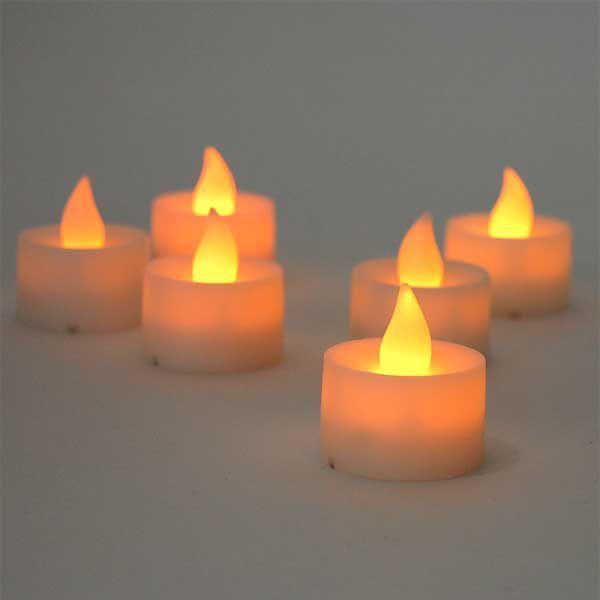 ティーライトキャンドル型 LED内蔵 インテリアライト スパイス キャンドル T-LIGHT|atease|03