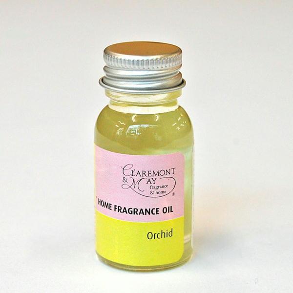 クラレモント&メイ フレグランスオイル Orchid オーキッドの香り ホームフレグランス 芳香剤 atease