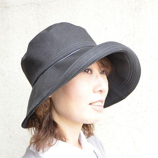 UVケアのつば広帽子◇S/M/L/LL/3Lサイズ対応◇全4種 atelier-doraneko