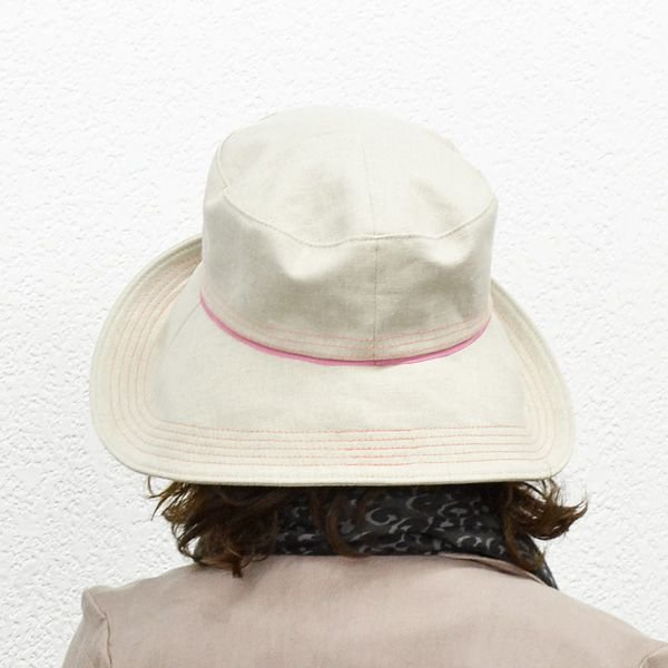 UVケアのつば広帽子◇S/M/L/LL/3Lサイズ対応◇全4種 atelier-doraneko 03