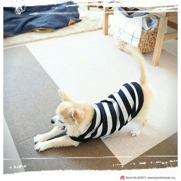 【送料無料】サンコー おくだけ吸着 撥水タイルマット 床暖房対応 フローリング 防滑 犬 フローリング 滑り止め 犬 猫 床 保護マット  脱臼防止 30×30cm 4mm|atelier-eirene|20