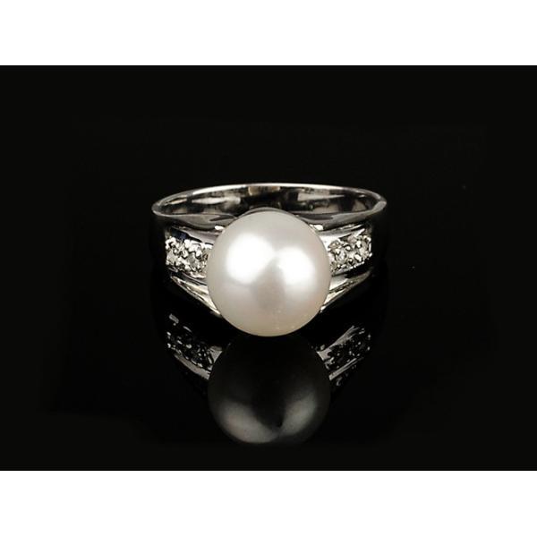 アコヤ真珠 リング 指輪 8.5mm 【SV925】【アコヤ真珠  パール】