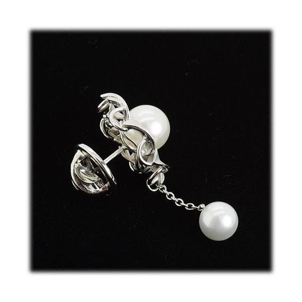 アコヤ真珠 ブローチ タックピン 【SV925】 【アコヤ真珠 パール】