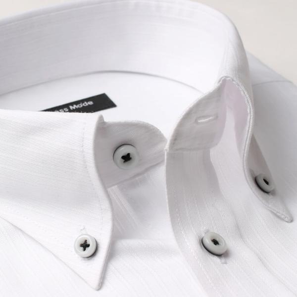 ワイシャツ 5枚 長袖 メンズ Yシャツ ノーアイロン ビジネス シャツ ボタンダウン レギュラー at-ml-sre-1516-g-5f 宅配便のみ atelier365 11