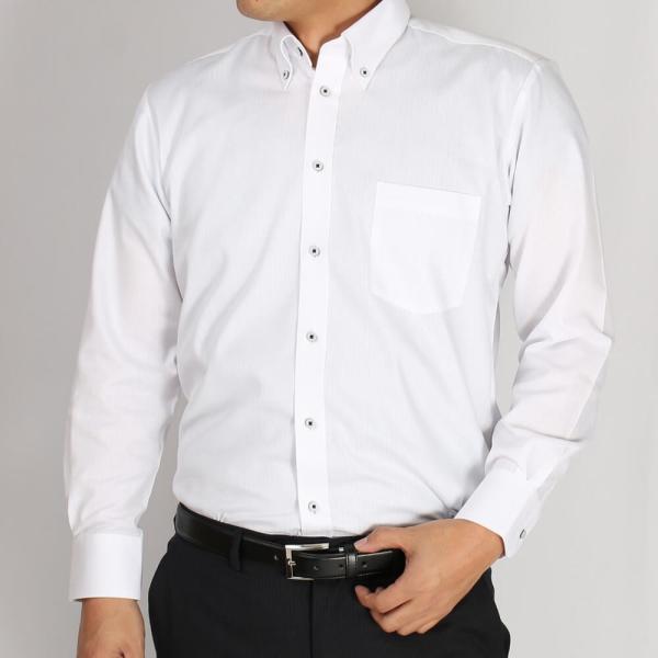 ワイシャツ 5枚 長袖 メンズ Yシャツ ノーアイロン ビジネス シャツ ボタンダウン レギュラー at-ml-sre-1516-g-5f 宅配便のみ atelier365 13