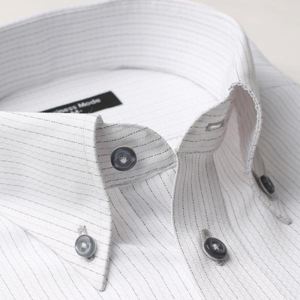 ワイシャツ 5枚 長袖 メンズ Yシャツ ノーアイロン ビジネス シャツ ボタンダウン レギュラー at-ml-sre-1516-g-5f 宅配便のみ atelier365 14