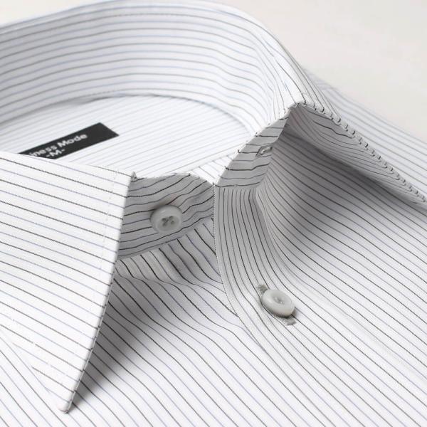 ワイシャツ 5枚 長袖 メンズ Yシャツ ノーアイロン ビジネス シャツ ボタンダウン レギュラー at-ml-sre-1516-g-5f 宅配便のみ atelier365 05