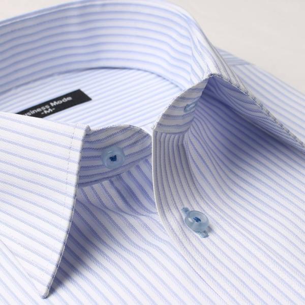 ワイシャツ 5枚 長袖 メンズ Yシャツ ノーアイロン ビジネス シャツ ボタンダウン レギュラー at-ml-sre-1516-g-5f 宅配便のみ atelier365 08