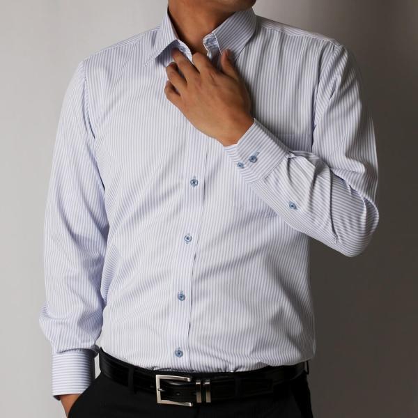 ワイシャツ 5枚 長袖 メンズ Yシャツ ノーアイロン ビジネス シャツ ボタンダウン レギュラー at-ml-sre-1516-g-5f 宅配便のみ atelier365 10