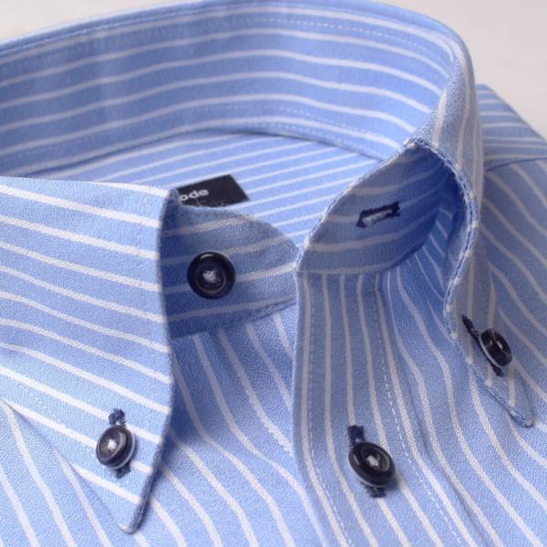 ワイシャツ 5枚 長袖 メンズ Yシャツ ノーアイロン ビジネス シャツ ボタンダウン レギュラー at-ml-sre-1516-h-5f 宅配便のみ|atelier365|17