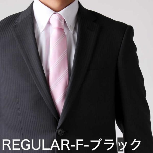 スーツ ビジネススーツ メンズ スリム 2つボタン ストレッチ 洗える ストライプ リクルート 就活 oth-me-su-1595 宅配便のみ クールビズ atelier365 14