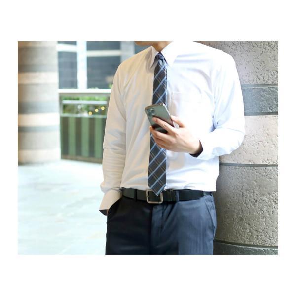 ワイシャツ メンズ 長袖 Yシャツ ビジネス シャツ ボタンダウン LL 3L 4L 5L 大きいサイズ sun-ml-sbu-1132 宅配便のみ クールビズ|atelier365|14