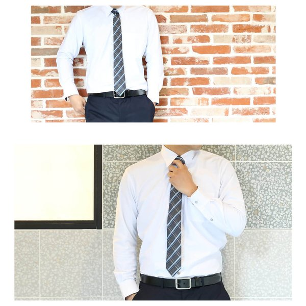 ワイシャツ メンズ 長袖 Yシャツ ビジネス シャツ ボタンダウン LL 3L 4L 5L 大きいサイズ sun-ml-sbu-1132 宅配便のみ クールビズ|atelier365|16