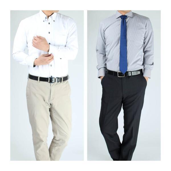 ワイシャツ メンズ 長袖 Yシャツ ビジネス シャツ ボタンダウン LL 3L 4L 5L 大きいサイズ sun-ml-sbu-1132 宅配便のみ クールビズ|atelier365|17