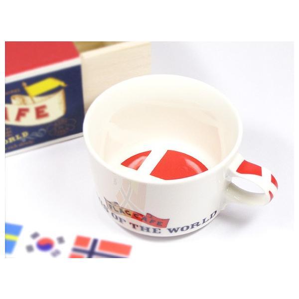 北欧フラッグ マグカップ デンマーク/食器/国旗|aterior