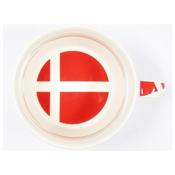 北欧フラッグ マグカップ デンマーク/食器/国旗|aterior|04