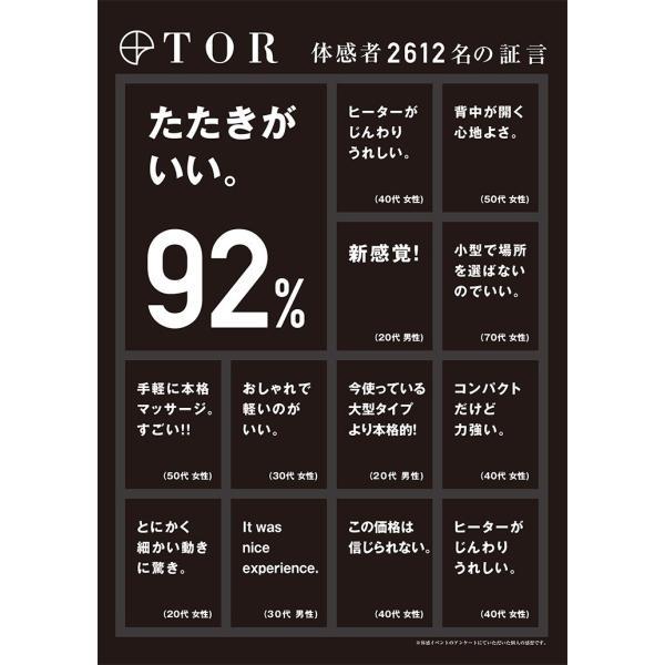 TOR(トール)マッサージシート タタキもみ AX-HXT218 アテックス|atex-net|06