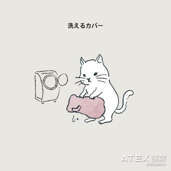 おはよう日本で紹介!ルルド ふわポカハグにゃん AX-KNL2023 アテックス アニマルヒーター|atex-net|07