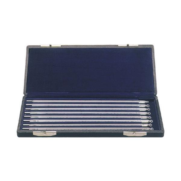 佐藤計量器 棒状標準温度計8本組セット(箱入) 0020-10
