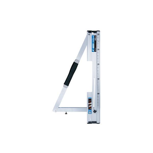 シンワ測定 丸ノコガイド定規 たためるエルアングル 45cm メートル目盛 78101