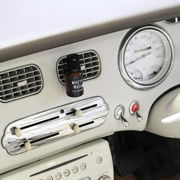 ジョンズブレンド  車用芳香剤 クリップディフューザー カーフレグランス John's Blend Clip Diffuser  ホワイトムスク|atforest|09