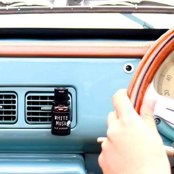 ジョンズブレンド  車用芳香剤 クリップディフューザー カーフレグランス John's Blend Clip Diffuser  ホワイトムスク|atforest|04