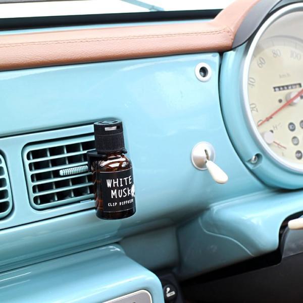 ジョンズブレンド  車用芳香剤 クリップディフューザー カーフレグランス John's Blend Clip Diffuser  ホワイトムスク|atforest|05