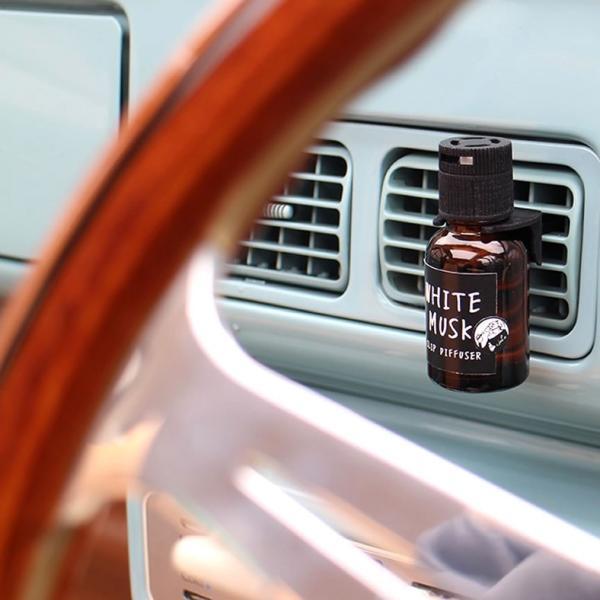 ジョンズブレンド  車用芳香剤 クリップディフューザー カーフレグランス John's Blend Clip Diffuser  ホワイトムスク|atforest|06