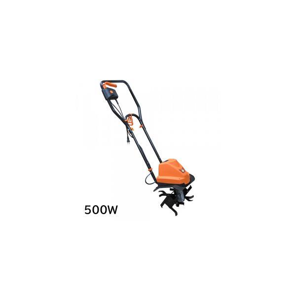 家庭用電動耕運機 耕す造 500W AKT-500WR 1446078/同梱不可・代引き不可