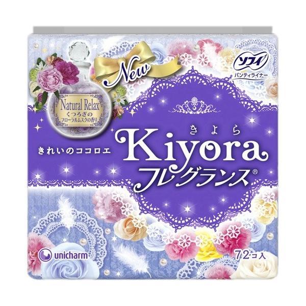 ユニ・チャーム ソフィ Kiyora(きよら) フレグランスリラックス 72枚 (4903111322947)