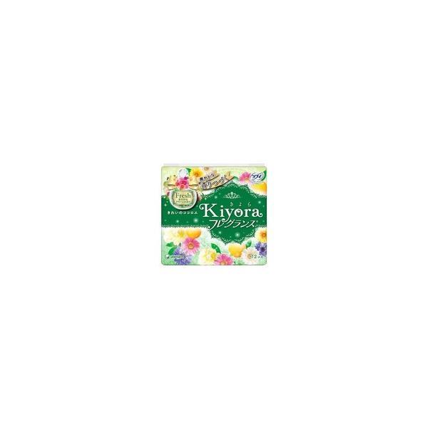 ユニ・チャーム ソフィ Kiyora(きよら) フレグランス グリーンの香り 72枚(4903111375103) ×10点セット 【まとめ買い特価!】