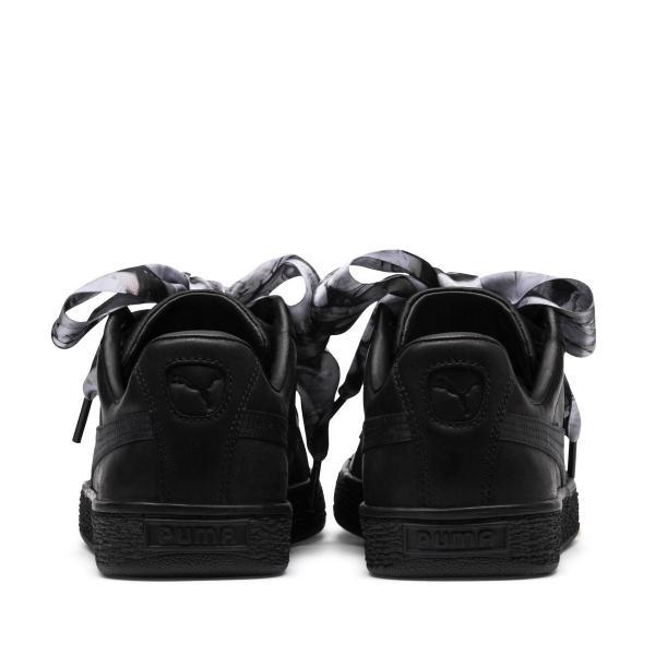 プーマ PUMA スニーカー バスケット ハート ミミクライ ウィメンズ (PUMA BLACK-PU) 18FA-I|atmos-tokyo|06