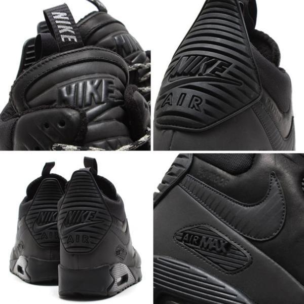 ... ナイキ NIKE スニーカー エア マックス 90 スニーカー ブーツ ウィンター (BLACK/BLACK-BLACK)