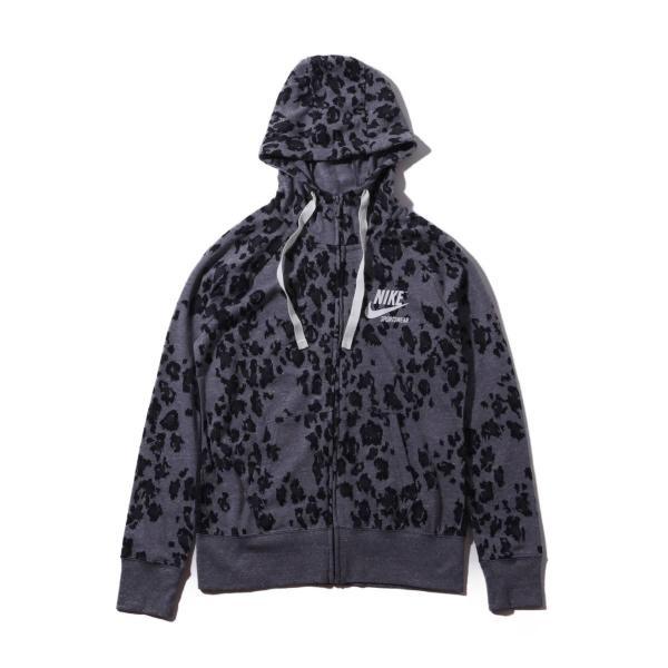 ナイキ NIKE パーカー ウィメンズ ジム ヴィンテージ フルジップ フーディ ドレス (BLACK/BLACK/SAIL ) 19SU-I|atmos-tokyo