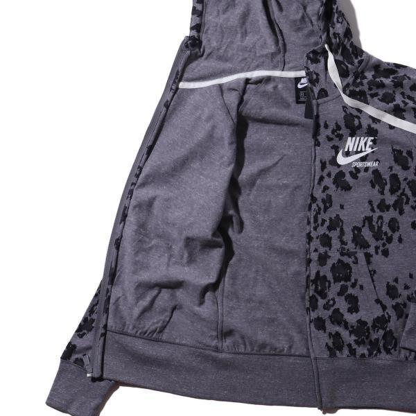 ナイキ NIKE パーカー ウィメンズ ジム ヴィンテージ フルジップ フーディ ドレス (BLACK/BLACK/SAIL ) 19SU-I|atmos-tokyo|08