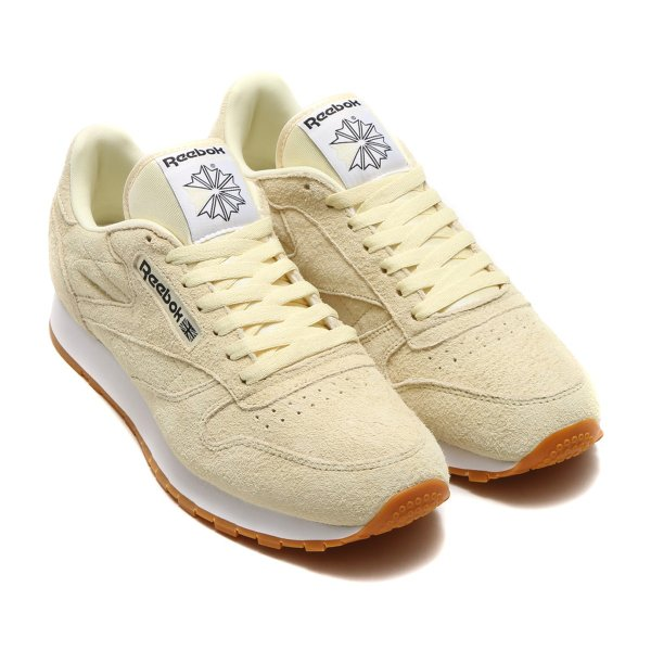 98722f26a9f リーボック Reebok スニーカー クラシック レザー パステル (WASHED YELLOW) 17SS-I atmos- ...