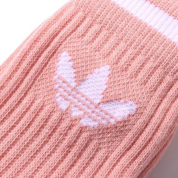 アディダスオリジナルス adidas Originals ソックス ソリッド クルー ソックス 2P (DUST PINK/) 19SS-I|atmos-tokyo|03