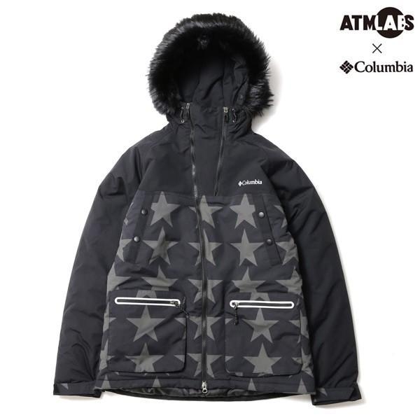 コロンビア×アトモス ラボ Columbia フェロシャス ストーム ジャケット(BLACK PATTERN)ユニセックス 15FW-S|atmos-tokyo|02