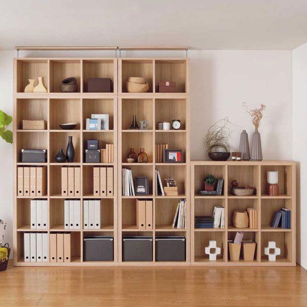... 本棚 書棚 突っ張り棚 上置き 見せる 北欧 オープンラック 収納 つっぱり カフェ 壁面 IKEAニトリ ...