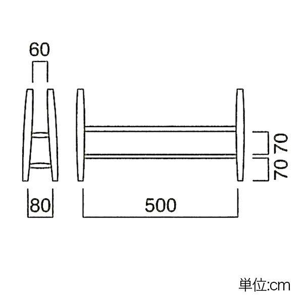 スリッパラック おしゃれ 木製 無垢材 完成品 スリッパスタンド スリッパ立て 幅30cm 北欧 ナチュラル 玄関収納|atom-style|02