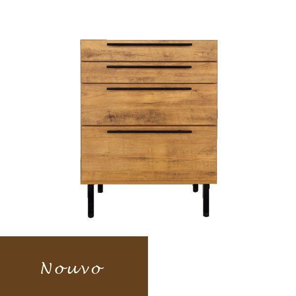 チェスト 北欧 引き出し 安い 木製 家具 引き出し 4段 箪笥 スリム おしゃれ アンティーク 収納