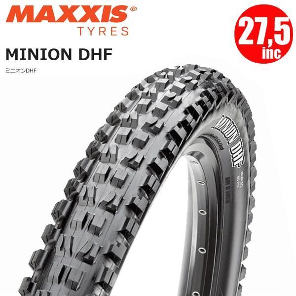 Maxxis Minion DHF 27.5x2.50WT 60 TPI Folding 3C Maxx Terra EXO TR tyre Black