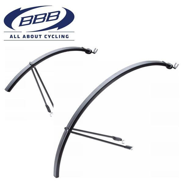 BBB BFD-22 (BBB スリムガード フェンダー) 365322 ブラック ロードバイク 泥除け