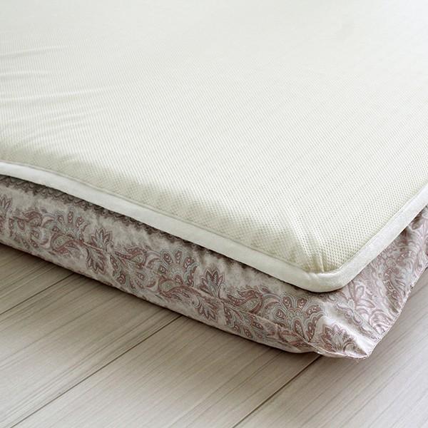 日本製 高機能 体圧分散 ホームナースマットレス 敷きパッド 敷パッド シングルサイズ|atorie-moon|05