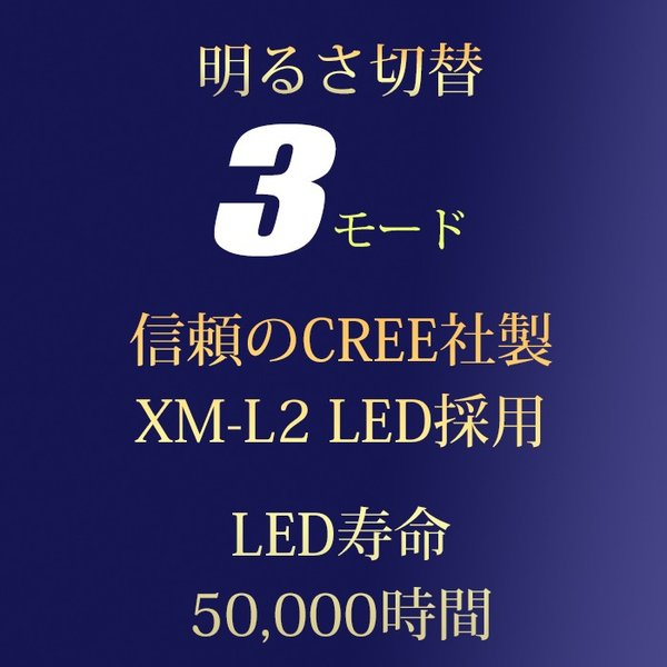 富士倉 充電式LEDハンディーライト C-010 懐中電灯 リチウムイオン電池 USB充電式 防水仕様 スマホ充電対応【納期2か月前後】|atrescue|05