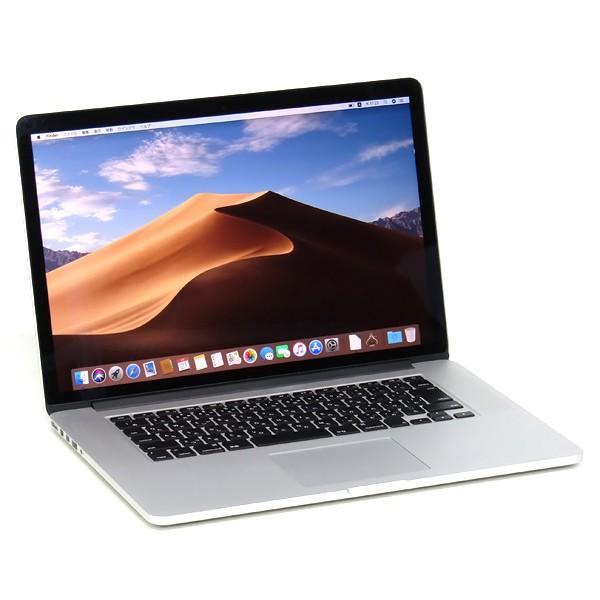 中古 ノートパソコン 本体 Apple MacBook Pro Early 2013 15インチ Retina GeForce GT650M Core i7 3635QM 2.4GHz 8GB SSD 256GB Mojave Office搭載 Wi-Fi|atriopc